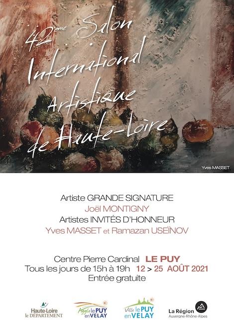 Paulove au 42éme Salon International Artistique.